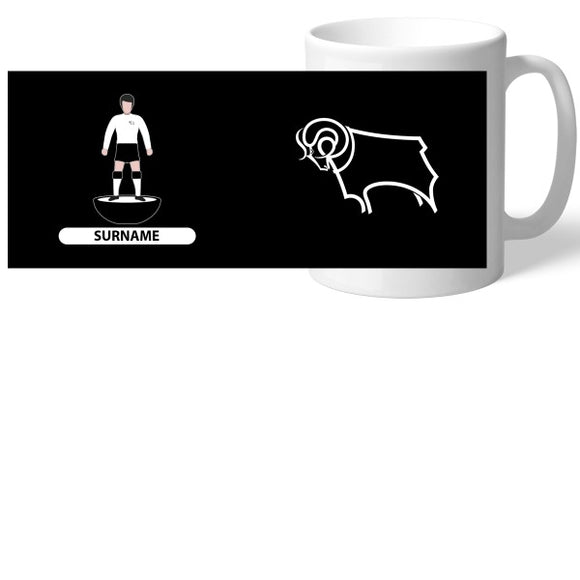 Derby County Player Figure Mug-Poppy Stop-Poppy Stop