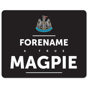 Newcastle United FC True Mouse Mat-Poppy Stop-Poppy Stop