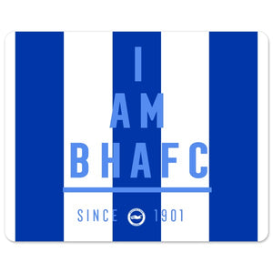 Brighton & Hove Albion FC I Am Mouse Mat-Poppy Stop-Poppy Stop