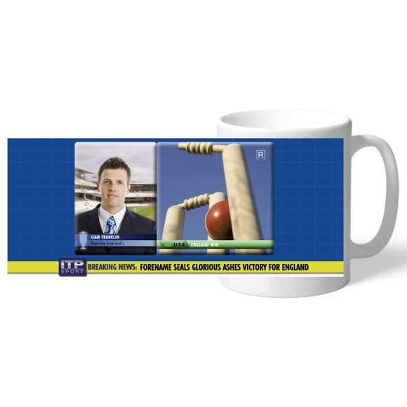 Personalised Cricket Mug-Poppy Stop-Poppy Stop