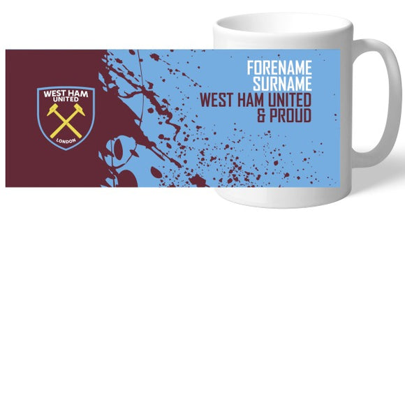 West Ham United FC Proud Mug-Poppy Stop-Poppy Stop