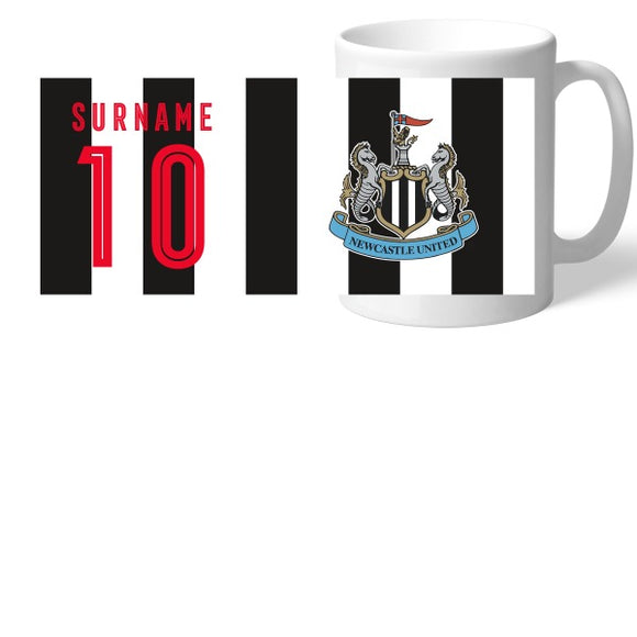 Newcastle United FC Retro Shirt Mug-Poppy Stop-Poppy Stop
