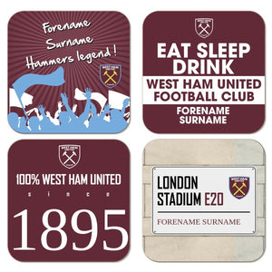 West Ham United FC Coasters-Poppy Stop-Poppy Stop