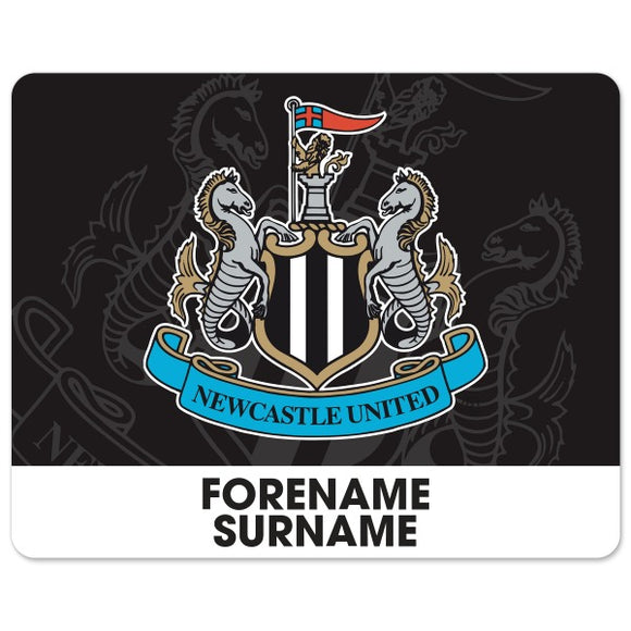 Newcastle United FC Bold Crest Mouse Mat-Poppy Stop-Poppy Stop