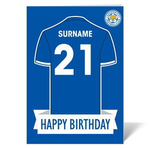Leicester City FC Shirt Birthday Card-Poppy Stop-ITP_GC_A4_UK-Poppy Stop