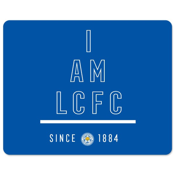 Leicester City FC I Am Mouse Mat-Poppy Stop-Poppy Stop