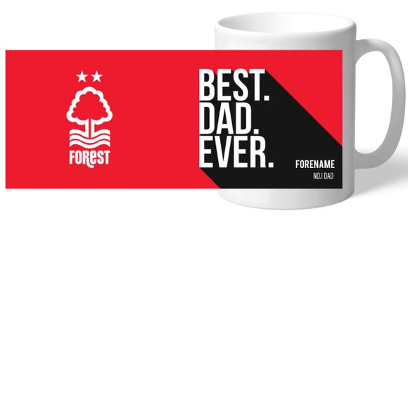 Nottingham Forest Best Dad Ever Mug-Poppy Stop-Poppy Stop
