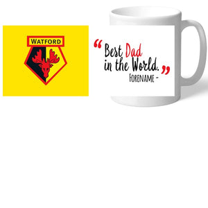 Watford FC Best Dad In The World Mug-Poppy Stop-Poppy Stop