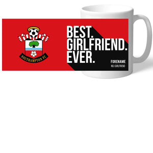 Southampton FC Best Girlfriend Ever Mug-Poppy Stop-Poppy Stop