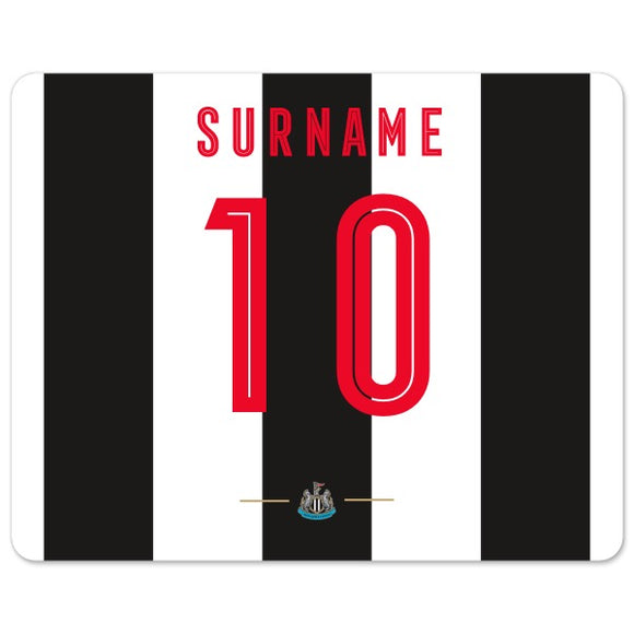 Newcastle United FC Retro Shirt Mouse Mat-Poppy Stop-Poppy Stop