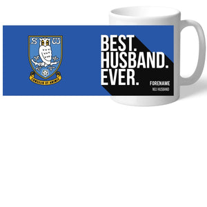 Sheffield Wednesday Best Husband Ever Mug-Poppy Stop-Poppy Stop