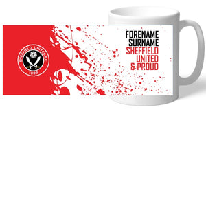 Sheffield United FC Proud Mug-Poppy Stop-Poppy Stop