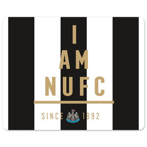 Newcastle United FC I Am Mouse Mat-Poppy Stop-Poppy Stop