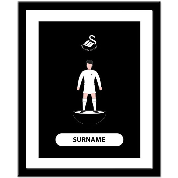 Swansea City AFC Player Figure Print-Poppy Stop-Poppy Stop