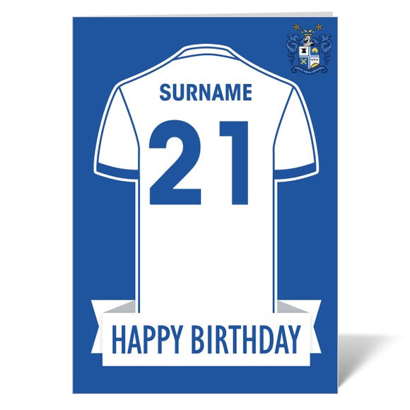 Bury FC Shirt Birthday Card-Poppy Stop-ITP_GC_A4_UK-Poppy Stop