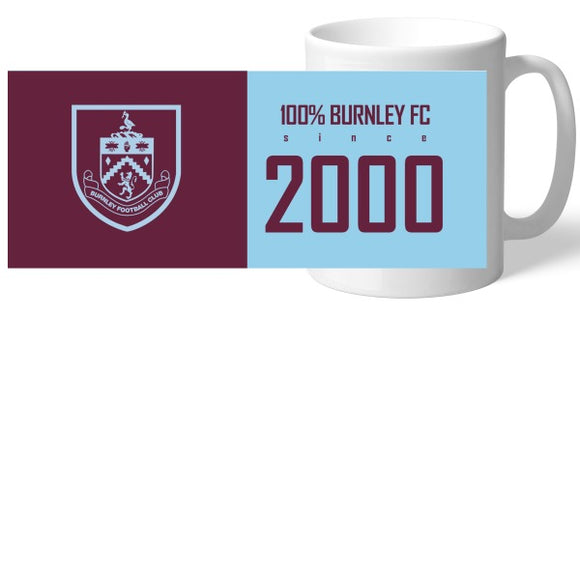 Burnley FC 100 Percent Mug-Poppy Stop-Poppy Stop