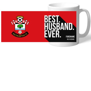 Southampton FC Best Husband Ever Mug-Poppy Stop-Poppy Stop