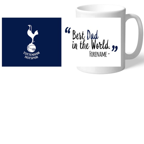 Tottenham Hotspur Best Dad In The World Mug-Poppy Stop-Poppy Stop
