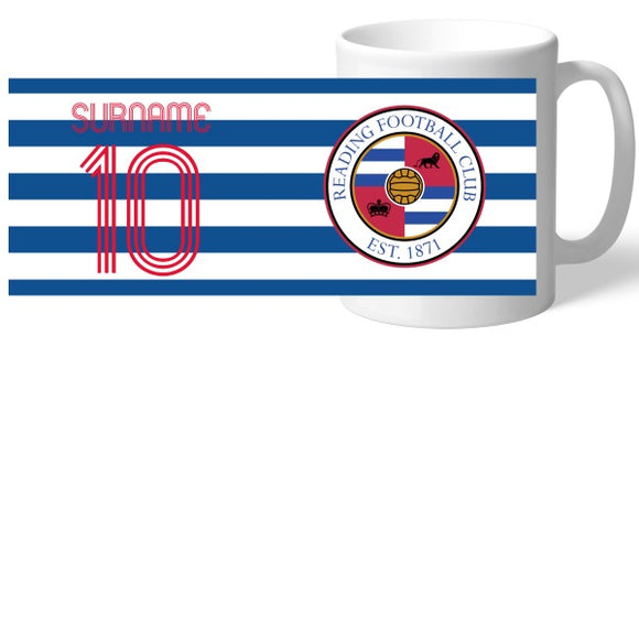 Reading FC Retro Shirt Mug-Poppy Stop-Poppy Stop