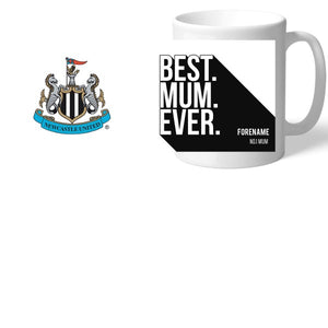 Newcastle United FC Best Mum Ever Mug-Poppy Stop-Poppy Stop