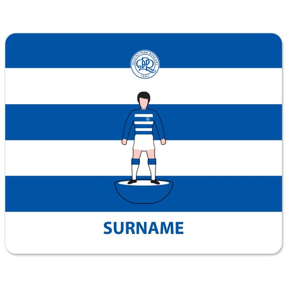 Queens Park Rangers FC Player Figure Mouse Mat-Poppy Stop-Poppy Stop