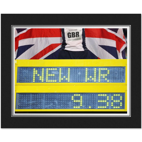 Personalised Athletics Photo Folder-Poppy Stop-Poppy Stop