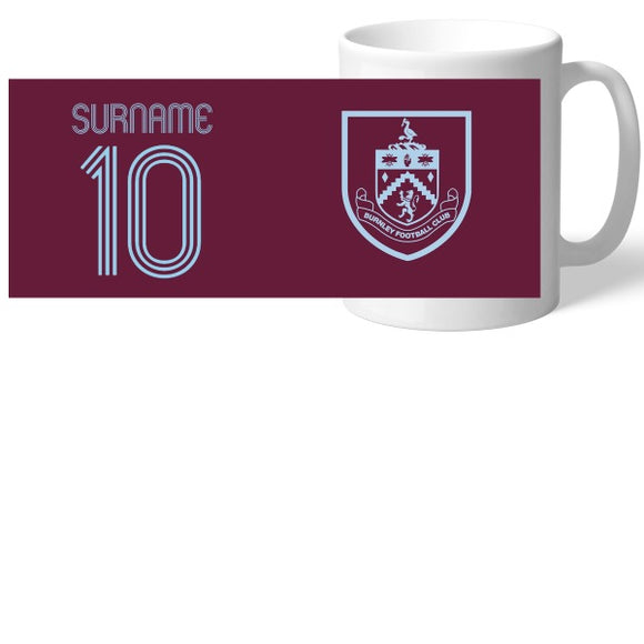 Burnley FC Retro Shirt Mug-Poppy Stop-Poppy Stop