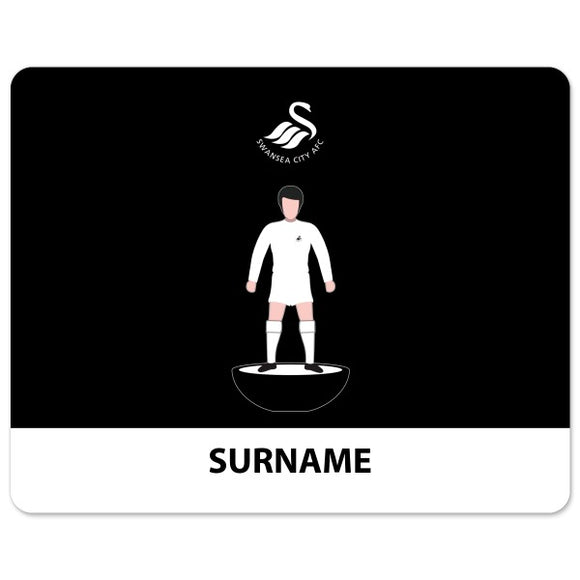 Swansea City AFC Player Figure Mouse Mat-Poppy Stop-Poppy Stop