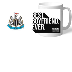 Newcastle United FC Best Boyfriend Ever Mug-Poppy Stop-Poppy Stop