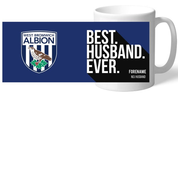 West Bromwich Albion FC Best Husband Ever Mug-Poppy Stop-Poppy Stop