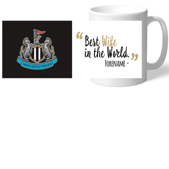 Newcastle United FC Best Wife In The World Mug-Poppy Stop-Poppy Stop