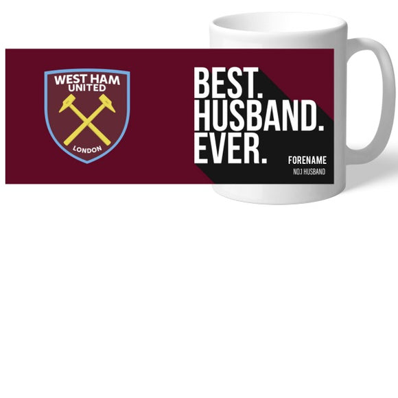 West Ham United FC Best Husband Ever Mug-Poppy Stop-Poppy Stop
