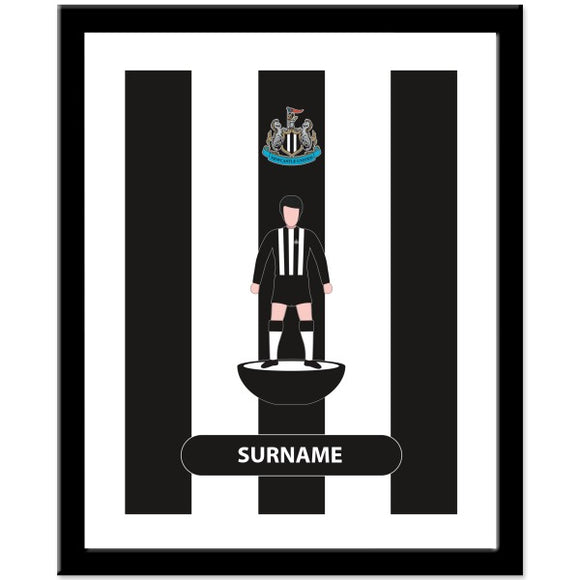 Newcastle United FC Player Figure Print-Poppy Stop-Poppy Stop
