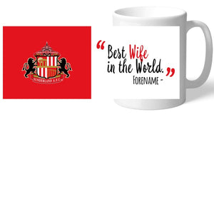 Sunderland Best Wife In The World Mug-Poppy Stop-Poppy Stop