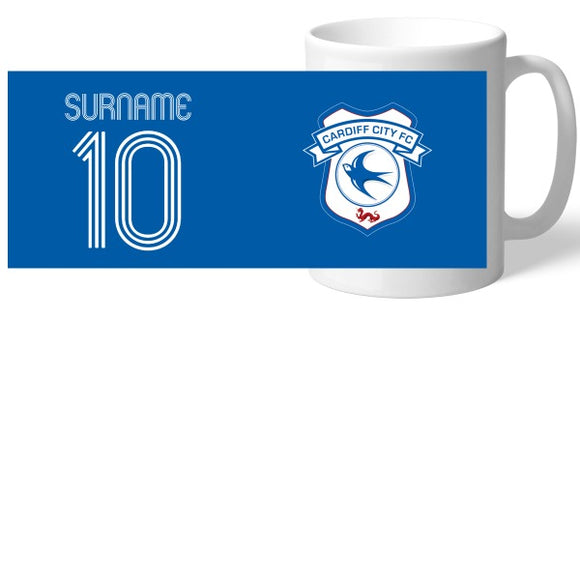 Cardiff City Retro Shirt Mug-Poppy Stop-Poppy Stop