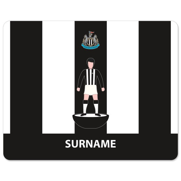 Newcastle United FC Player Figure Mouse Mat-Poppy Stop-Poppy Stop