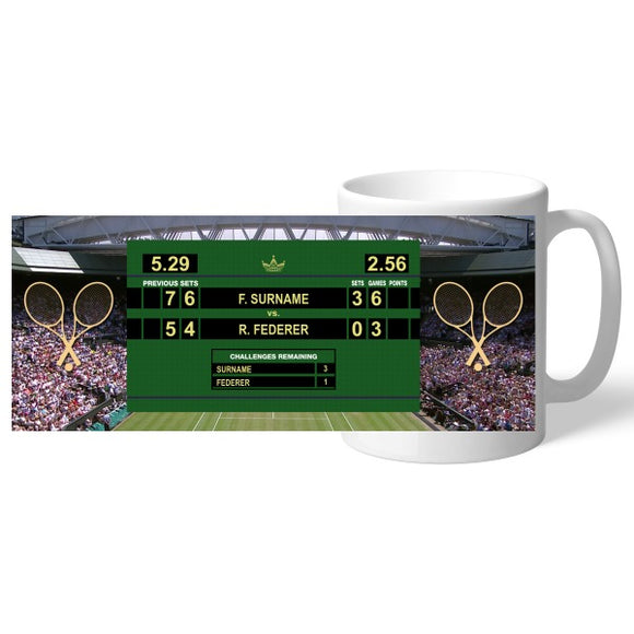 Personalised Male Tennis Mug-Poppy Stop-Poppy Stop