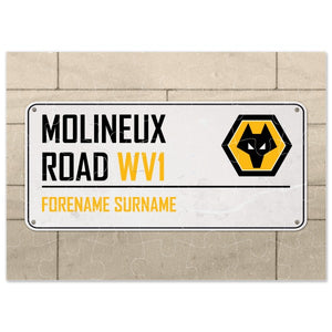 Wolves Street Sign Jigsaw-Poppy Stop-Poppy Stop
