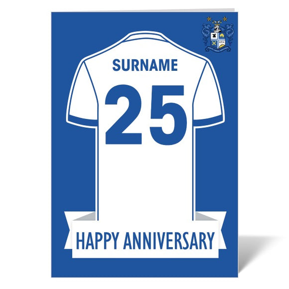 Bury FC Shirt Anniversary Card-Poppy Stop-ITP_GC_A4_UK-Poppy Stop