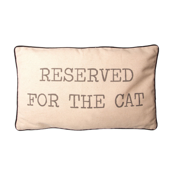 RESERVED FOR THE CAT CUSHION-Poppy Stop-Poppy Stop