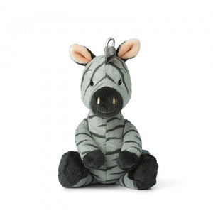 Zigo the Zebra (Grey) with bell - 22 cm-Poppy Stop-Poppy Stop