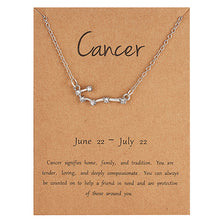 Load image into Gallery viewer, Constellation Zodiac Necklace
