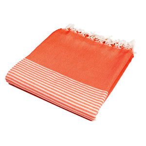 Barcelona Red Bamboo Beach Towel - Eselba