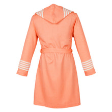 Load image into Gallery viewer, Havana Fitty Classy Living Coral Cotton Women's Robe - Eselba