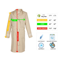 Load image into Gallery viewer, Lima Fitty BoxBox Bamboo Men's Robe - Eselba
