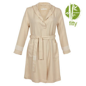 Lima Fitty BoxBox Bamboo Women's Robe - Eselba