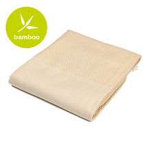Load image into Gallery viewer, Lima Beige Bamboo Beach Towel - Eselba