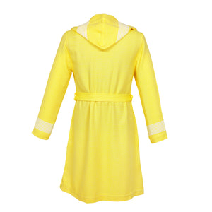 Phoenix Fitty BoxBox Yellow Bamboo Women's Robe - Eselba
