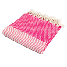 Load image into Gallery viewer, Phuket Pink Bamboo Beach Towel - Eselba