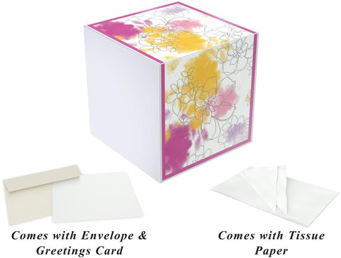 Kati Carmen, 7x7x7 inches EZ Gift Box